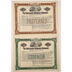 Northern Brewery Company Stock Certificates  (126211)