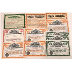 Whiskey Distillers Stock Certificate Collection  (109316)