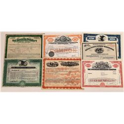 Whiskey Distillers Stock Certificate Collection  (109317)
