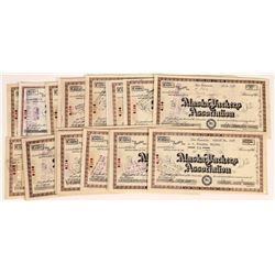 Alaska Packers Association Stock Certificates  (109287)