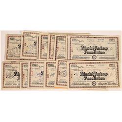 Alaska Packers Association Stock Certificates  (109286)