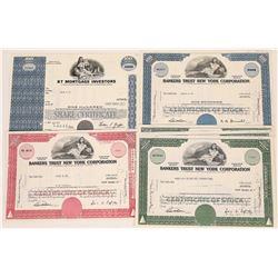 Bankers Trust New York Corporation Stock Certificates  (126064)