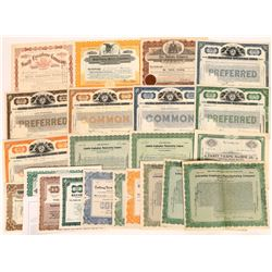 Graphophone & Talking Machine Stock Certificate Collection  (124728)