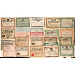 Phonograph Company Stock Certificate Collection  (124727)