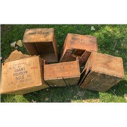 Giant Powder Boxes (5)  (122154)