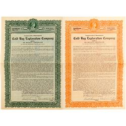 Cold Bay Exploration Company Oil Royalty Certificate  (83618)