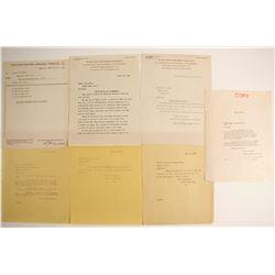Pacific Coast Gold Mines Corporation Correspondence  (23909)