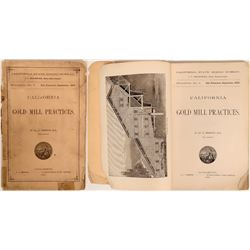 California Gold Mill Practices by. Ed. B. Preston, M.E. 1901 reference book  (120617)