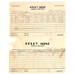 Kelly Mine Assay Reports (2)  (65046)