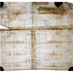 Cripple Creek, CO, New City Hall Blueprint  (24445)