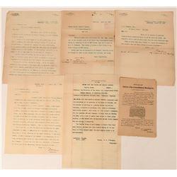 Leadville Mining Correspondence  (113615)