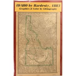 Map of Idaho by Hardesty  (59349)