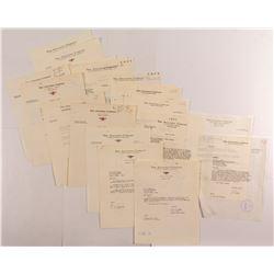 Anaconda Company Letters  (50330)