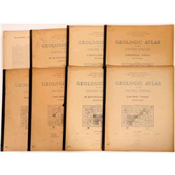 Tennessee USGS Geologic Folios (8)  (112310)