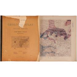USGS Columbia Folio No. 95 Tenessee  (110377)
