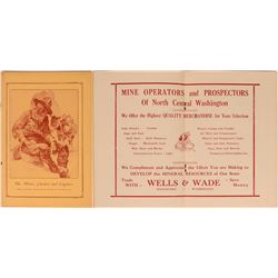 The Miner, Chemist and Engineer program booklet on mining in Washington state 1938  (120615)