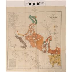 Nanaimo and Westminster Mining District Map 1906  (121155)