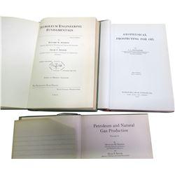 Oil Production Books (3)  (86257)