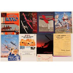 Reno Air Race & Other Air Show Publications  (116683)