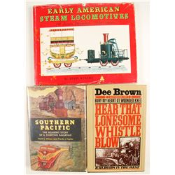 Rail Road Hardcovers  (3 count)  (63137)