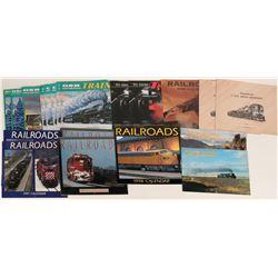 Railroad Calendars, Modern  (122729)