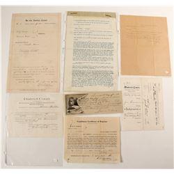 District Court Documents, Pleading & Letters  (91241)