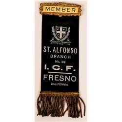 Italian Catholic Federation Membership Robbon  (110514)
