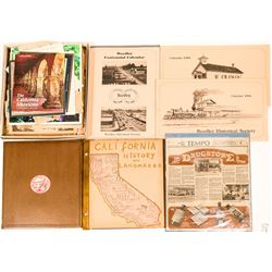 Fresno area scrap book and calendars  (116849)