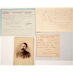 Early Placerville Documents & Ephemera  (77359)