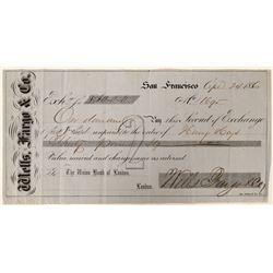 Wells Fargo & Co. Second of Exchange  (108767)