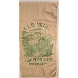 "Ames & Harris made Chinese Bag  ""Old Mill""  (110710)"