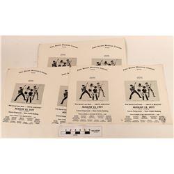 Rock -n Roll Posters (Printer Overrun )  (120906)
