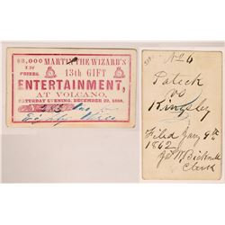 Gold Rush: Martin The Wizard's Entertainment Ticket  (119668)
