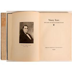 Rare Private Press Gold Rush History Book  (113051)