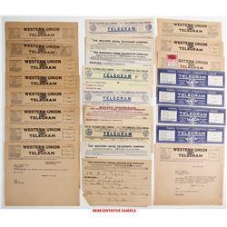 Van Camp Hardware Telegram Collection  (64076)
