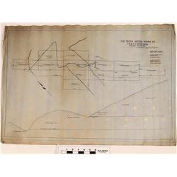 Grouse Mountain Mining Co. Maps Troy, Montana  (120605)