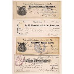 Montana Banking Checks  (124675)