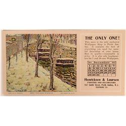 Ernest Lawson Art Advertising Blotter (1)  (118349)