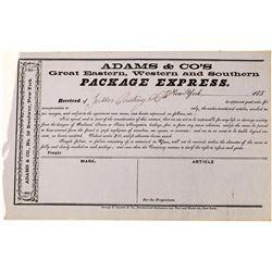 Adams & Com's Package Express, 185-  (123726)