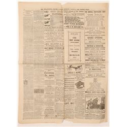 Newspaper / The First Milk Jar  (102098)