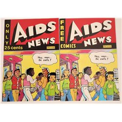 Aids News Comic Book  (120942)