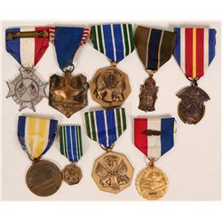 ROTC Medals Collection (9)  (118904)