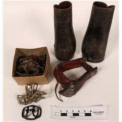 Cowboy leather gear  (113084)