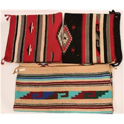 Three Mexican style wool blankets  (113074)