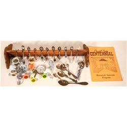 """Doll Plates, Spoons & Things / """" A Little Girl's Dreams / 43 Items.  (109724)"""