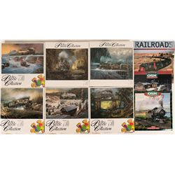 Railroad. Puzzles and Calendars  (117776)