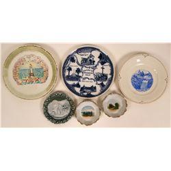 Southern California Souvenir Plates  (117996)