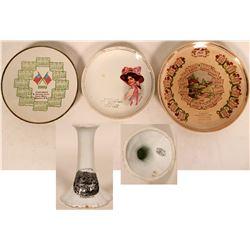 Dakotas Souvenir Plate Collection (4)  (115346)
