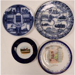 Florida Souvenir Advertising and Calendar Plates (4)  (112623)