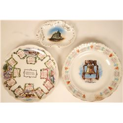 Souvenir Plate Collection, Midwestern States (3)  (115364)